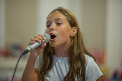 Stage performance tips for singers